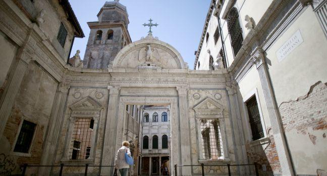 Scuola Grande di San Giovanni Evangelista, San Polo, Venice, Italy.