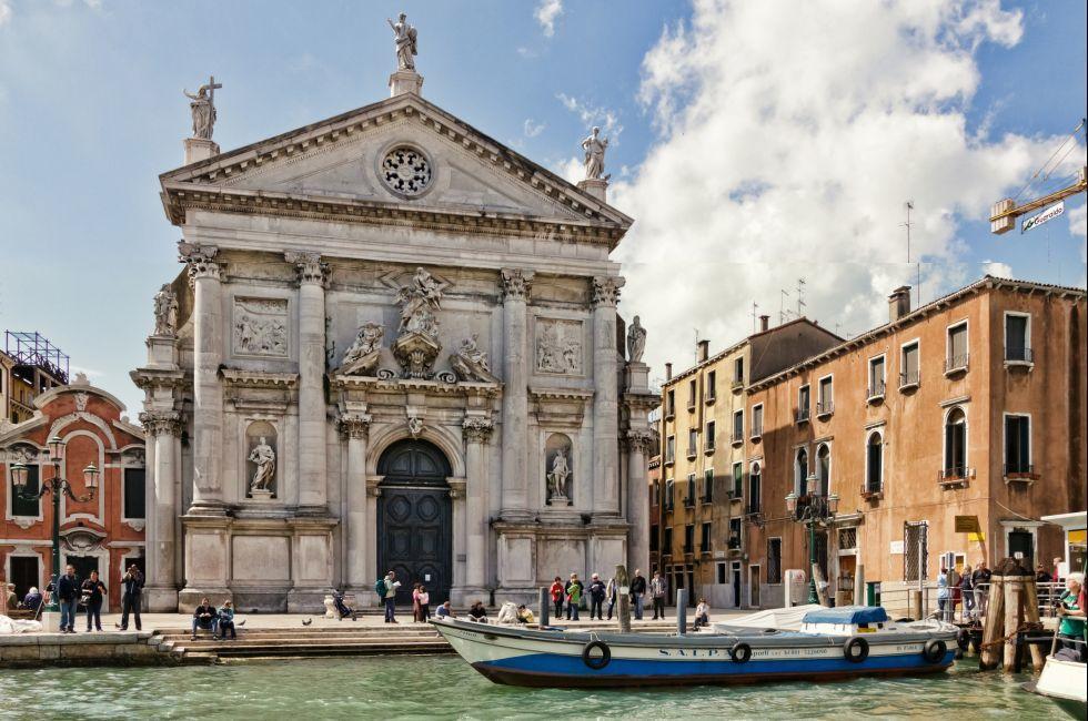 San Stae, Santa Croce, Venice, Italy.