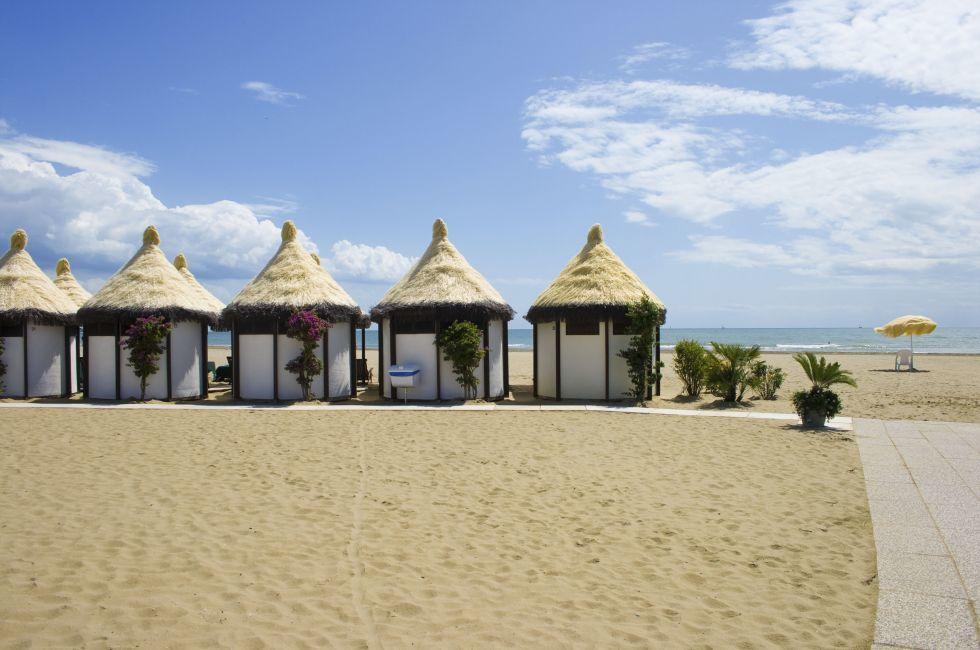 Lido Beach, Venice, Italy.