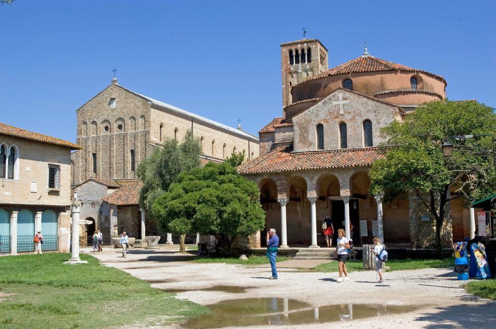 Cathedral of Santa Maria Assunta, Torcello, Venice, Italy.