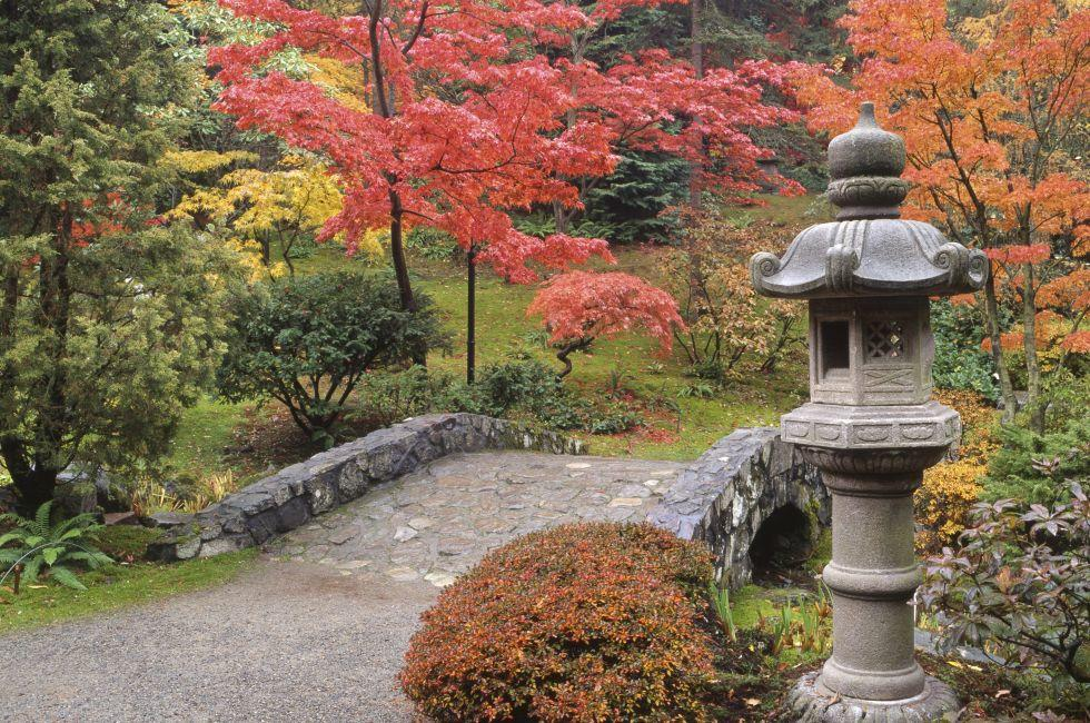 Japanese Garden, Washington Park Arboretum, Seattle, Washington, USA