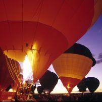 Hot Air Balloons, Albuquerque, New Mexico, USA