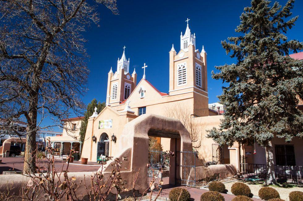 San Felipe de Neri Church, Old Town, Albuquerque, New Mexico