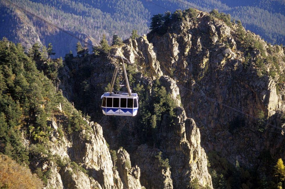 Sandia Peak Tramway, Albuquerque, New Mexico, USA