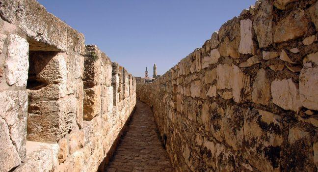 City Wall, Ramparts, Jerusalem, Israel