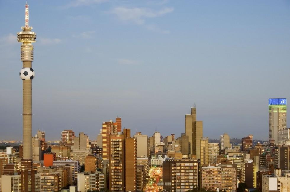 Cityscape, Johannesburg, South Africa