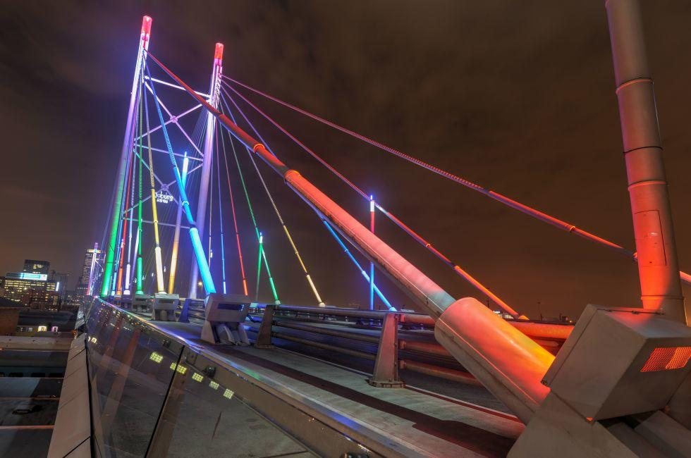 Nelson Mandela Bridge, Johannesburg, South Africa