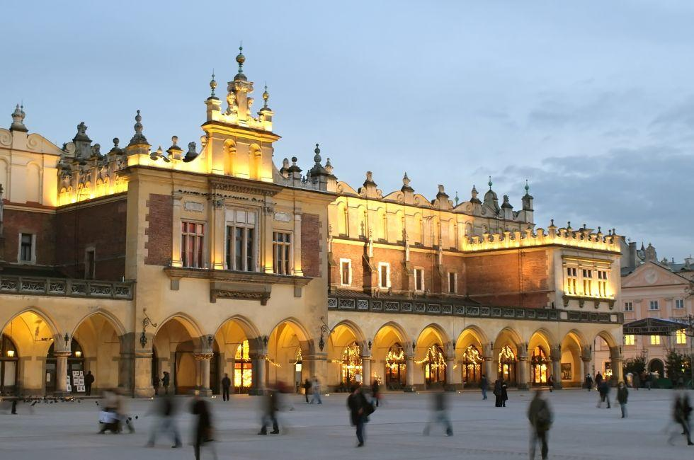 Main Square, Cloth Hall, Poland