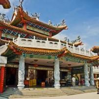 Buddhist Temple, Thean Hou Temple, Kuala Lumpur, Malaysia