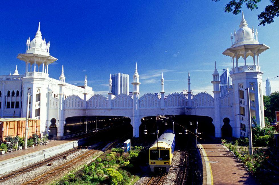Kuala Lumpur Railway Station, City Centre, Kuala Lumpur, Malaysia. Asia.