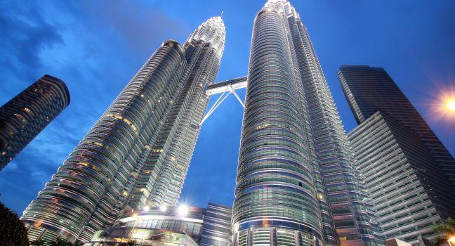 Petronas Twin Towers, Kuala Lumpur, Malaysia, Asia