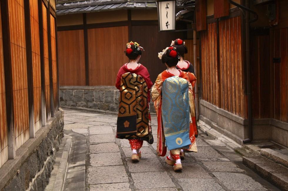 Geishas, Gion, Kyoto, Japan