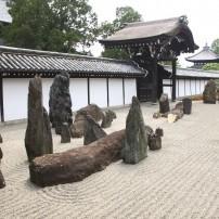 Japanese Zen Garden, Tofuku-ji, Kyoto, Japan