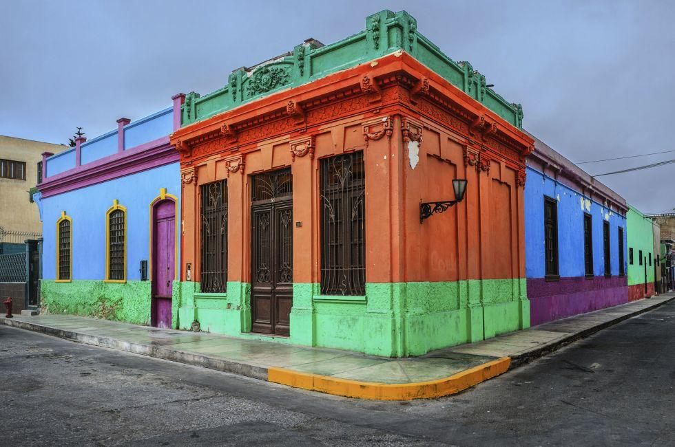 Houses, Chucuito, Callao Town, Lima, Peru