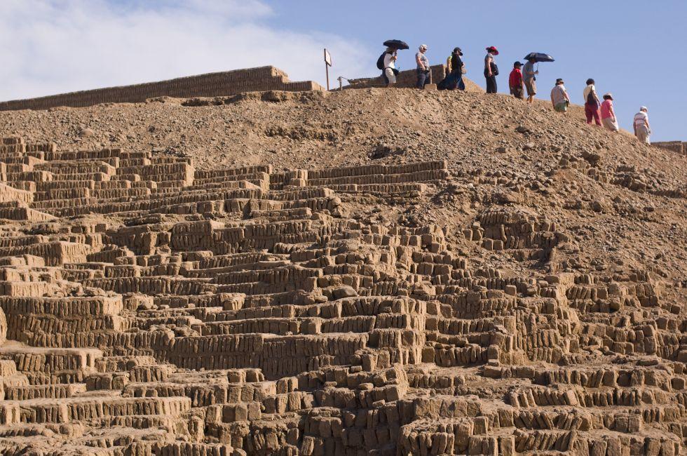 Huaca Pucllana Pyramid, Lima, Peru