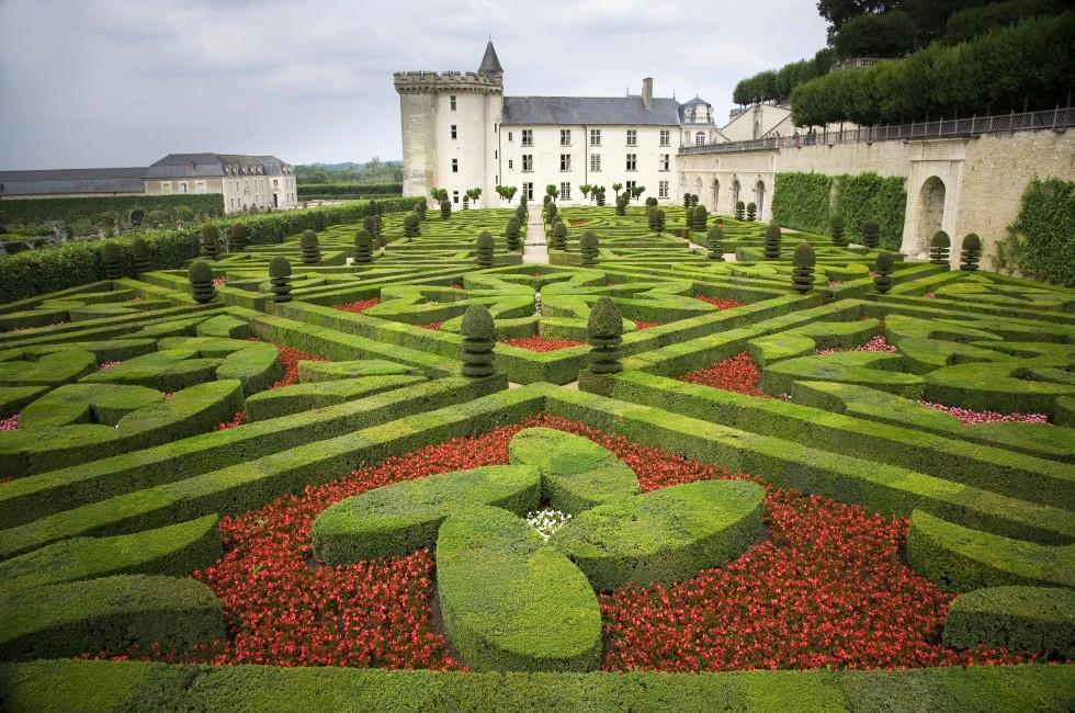 Chateau of Villandry, Loire Valley, France
