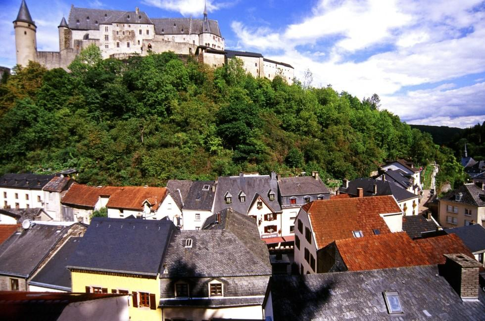 Vianden Castle, Old Town, Luxembourg CIty, Luxembourg