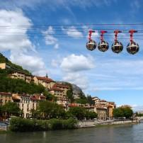 Cable Cars, Grenoble, The Alps, France