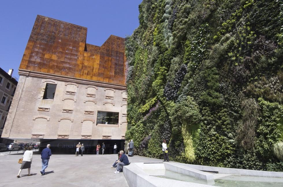 Facade, Caixa Forum, Madrid, Spain