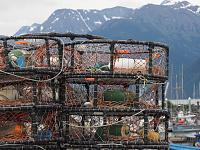 Alaska Seward to Vancouver June 2018 Noordam-crab-pots-haines.jpg