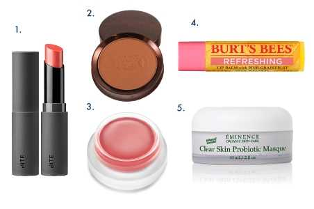 10 Natural and Organic Beauty Products Worth Packing