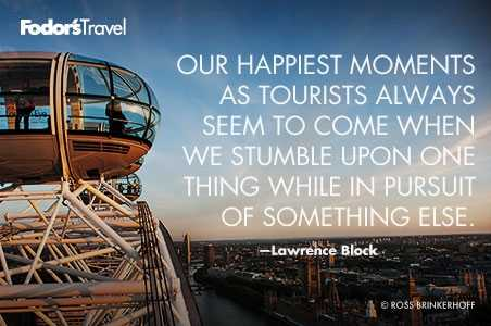 Travel Quote of the Week: On Serendipity