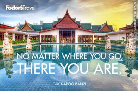 Travel Quote of the Week: On Discovering Where You Are