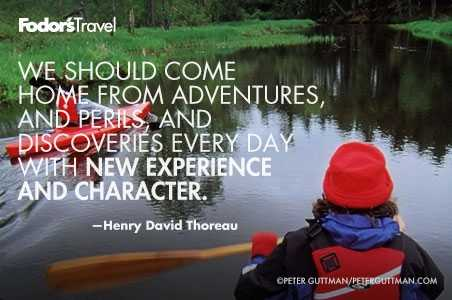 Travel Quote of the Week: On Growing Through Travel