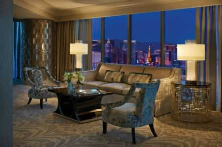 Presidential Strip-View Suite at The Four Seasons Las Vegas