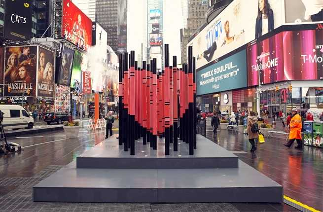 This Art Installation Is the Only Reason to Visit Times Square
