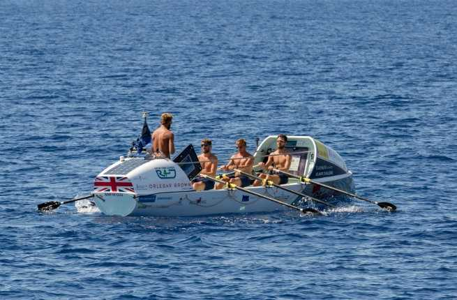 These Guys Just Rowed Across The Atlantic Ocean in a Tiny Boat