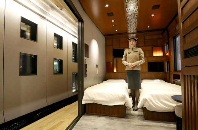 Journey Through Japan on a New Luxury Train