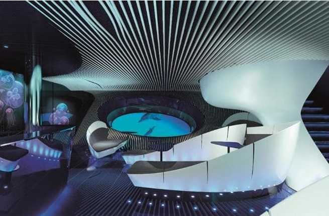 This Cruiseliner Is Offering a Multi-Sensory Underwater Lounge Complete With Vibrating Sofas