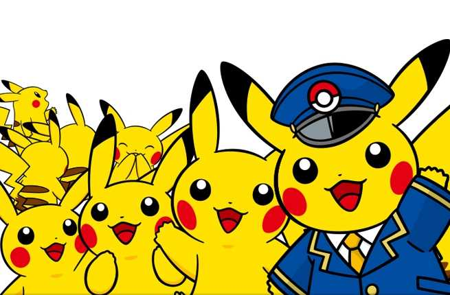 Jump Aboard This Pikachu Train to Catch a Ride to Pokémon Heaven