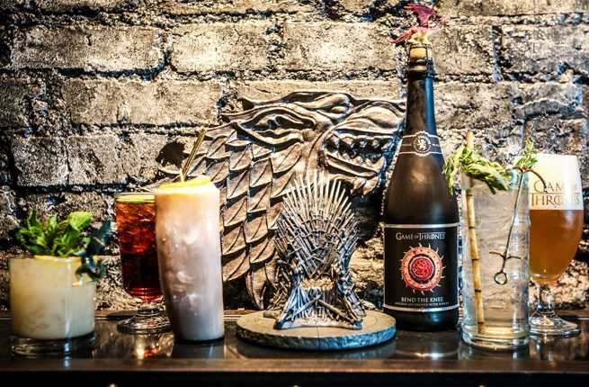 Liquor Is Coming: Get Drunk Tyrion-Style at The Game of Thrones Pop-Up Bar