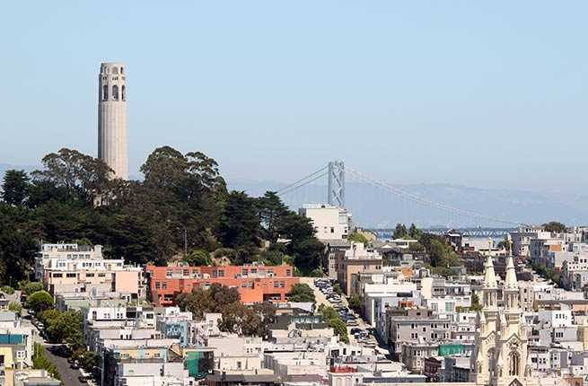 Landmark with a View: Coit Tower