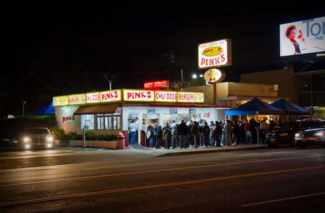 Pink S Hot Dogs Venice Beach