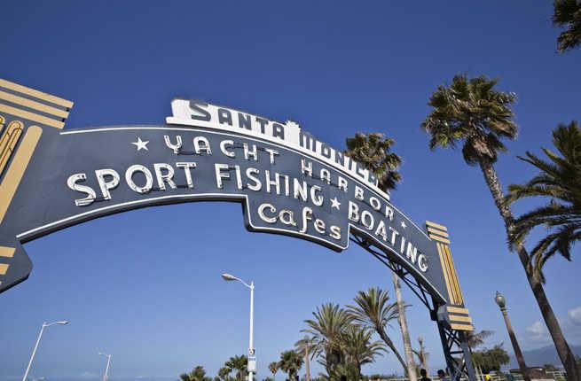 Enjoy Santa Monica Pier