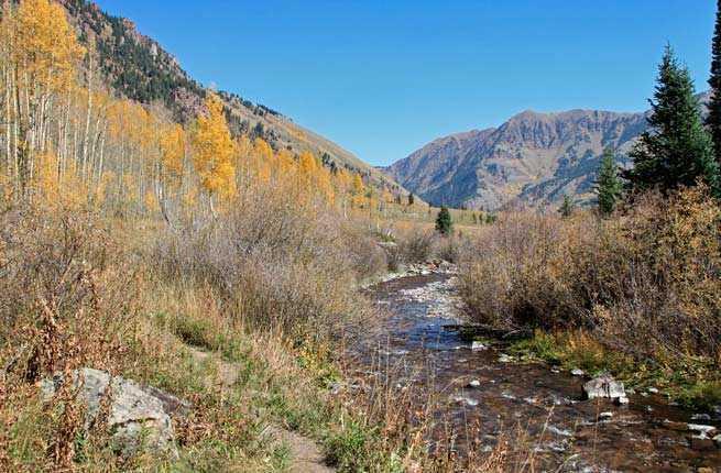 West Maroon Creek Trail