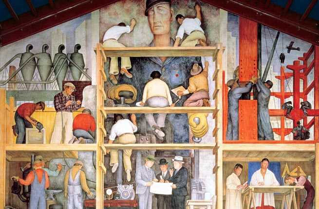 Top 25 free things to do in san francisco fodors travel for Diego rivera mural in san francisco