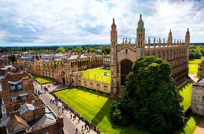 Cambridge University, England