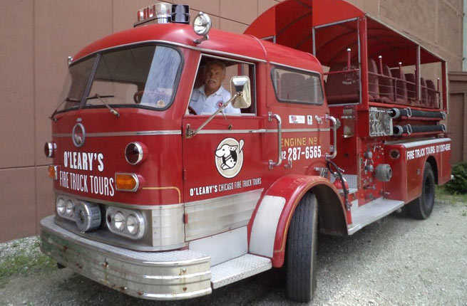 O'Leary's Fire Truck Tours, Chicago