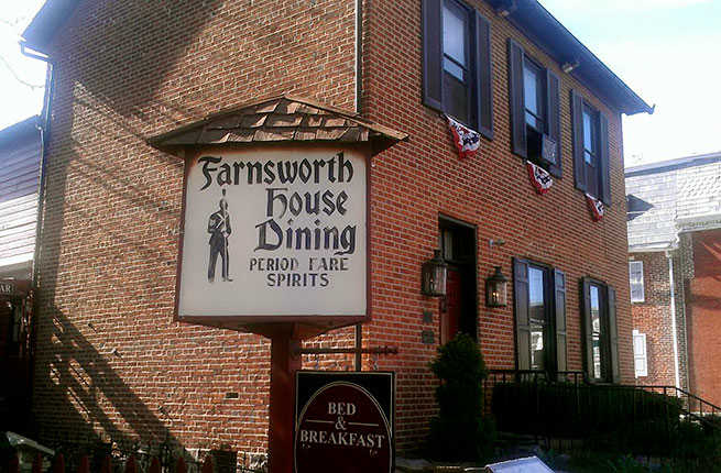 Farnsworth House Inn Haunted Rooms
