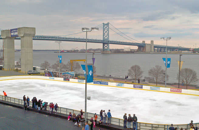 Blue Cross River Rink