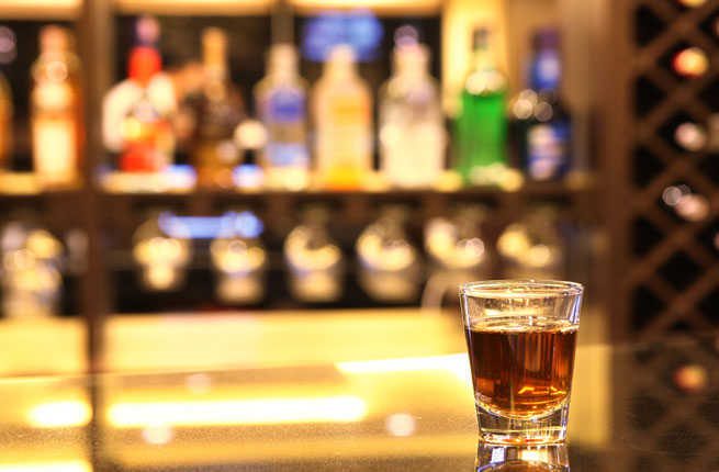 Whiskey bars