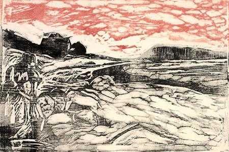 Edvard-munch washing-clothes-at-the-shore