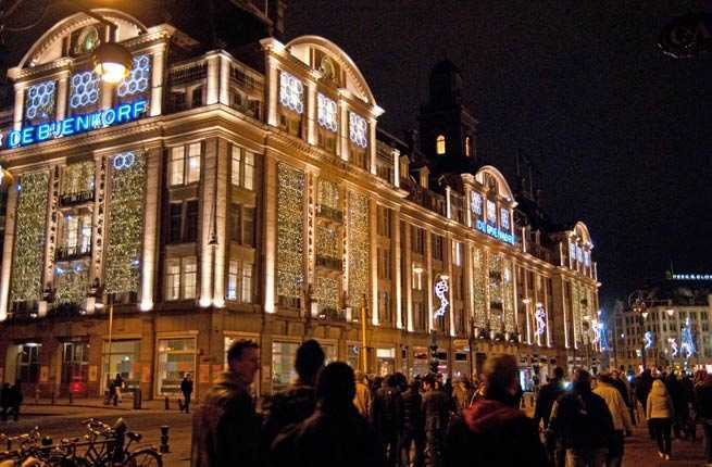 Nieuwmarkt, Leidseplein, and Dam Square