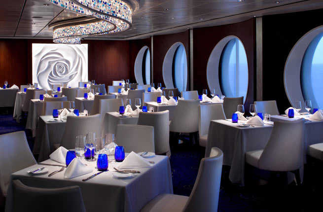 Blu Restaurant: Cruise Ship Food & Dining | Celebrity Cruises