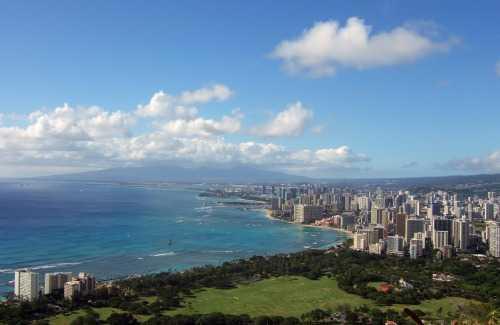 Oahu: A Shot of Downtown Honolulu