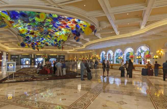 Dale Chihuly Ceiling Sculpture